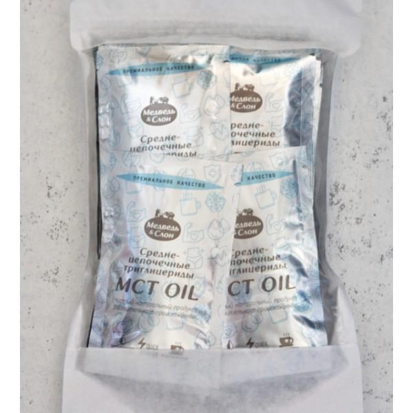 Масло со среднецепочечным триглицеридом MCT OIL саше 25 шт. по 10 мл